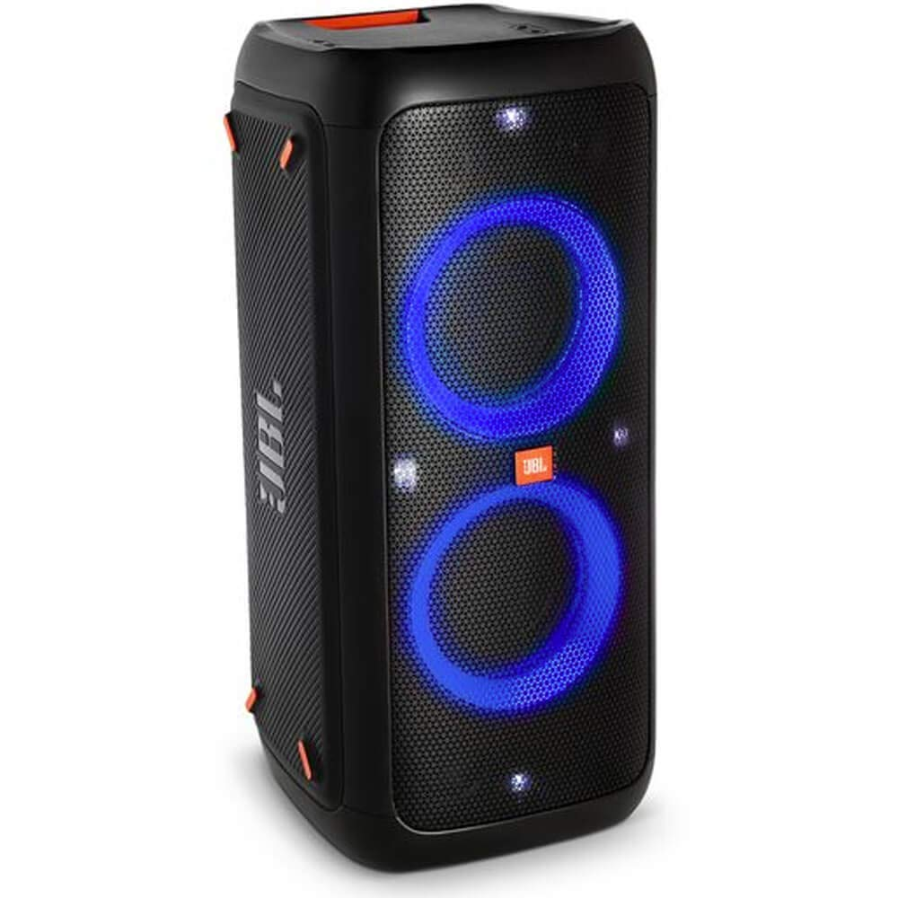 JBL PartyBox 300 High Power Portable Wireless Bluetooth Audio System with Battery - Black (Renewed) by JBL