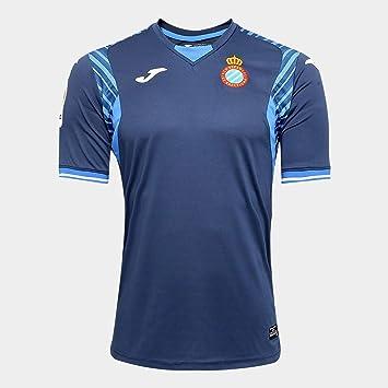 Joma Camiseta RCD Espanyol Segunda Equipación 2017-2018 Azul Marino Talla S: Amazon.es: Deportes y aire libre