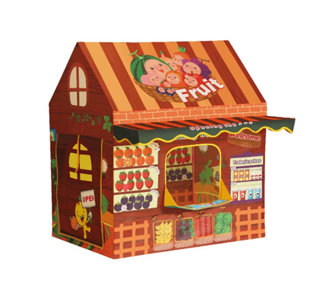 popular 10070110CM C-J-Xin Piscina infantil con forma de pelota oceánica, oceánica, oceánica, sala de juegos para niños en el interior, sala de juguetes, rompecabezas para bebés, regalo de cumpleaños, Castle House, 100  70  110 CM Tienda  alto descuento