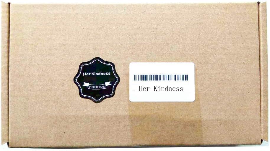 Her Kindness 50 pcs Morsettiere su guida DIN Staffa fine corsa E//UK Staffa universale su Guida DIN grigia