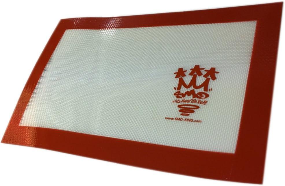 Smo-king, silicona, grande, lisa, 30x 21,5cm, Honey Bee BHO Waxy concentrado