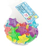 Kikkerland Star Shaped Reusable Ice Cubes, 30 Count