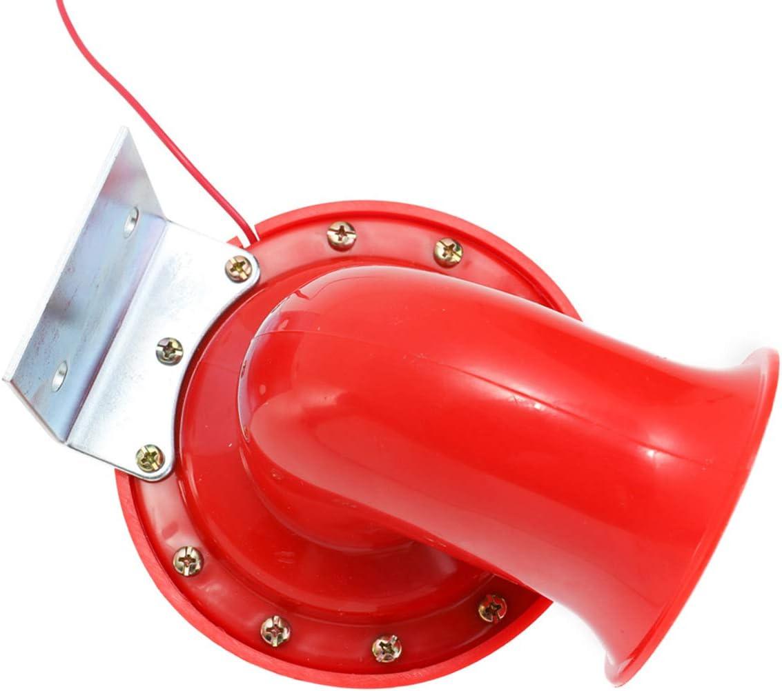 SANON car horn,12V Electric Horn 200dB Loud Air Horn for Truck Car Motorcycle