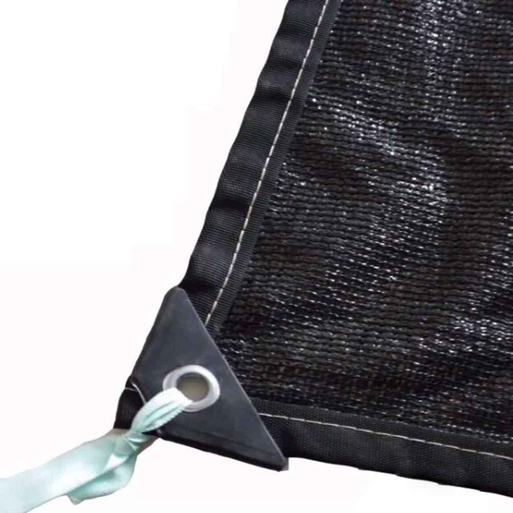 Rete per tende da sole, sole, sole, reticolato da sole, reticella per prossoezione solare, tende in tela da tessuto tende, adatta per la privacy resistente ai raggi UV, possono essere scelte più dimensioni, nero B07K8SRDRT 29M NERO | Varietà Grande  | Vari I  76ac90