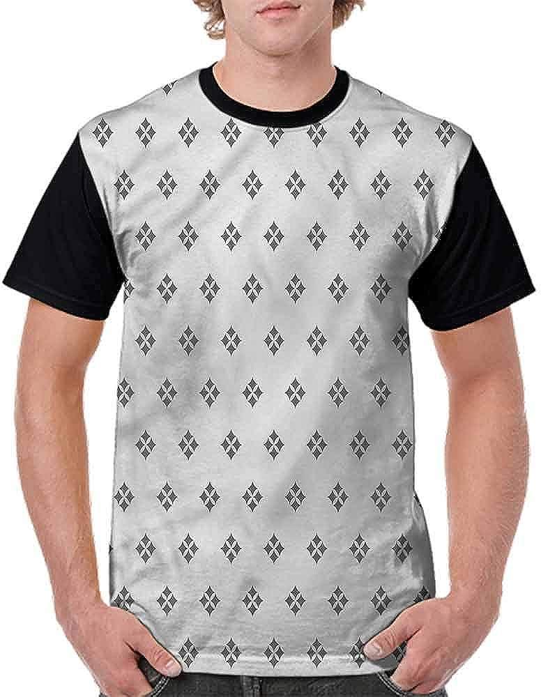 BlountDecor Cotton T-Shirt,Orient Culture Motif Fashion Personality Customization