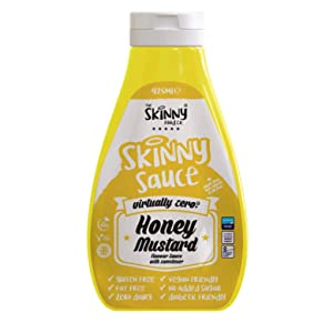 Skinny Food Zero Calorie Skinny Sauce- Honey Mustard (425ml)