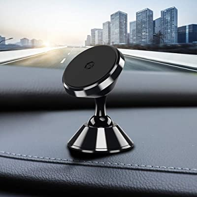 Magnetic Car Phone Holder,YUMA Car Phone Mount,Phone Holder for Car,Magnetic Phone Holder for Car Compatible iPhone 11/11 Pro/7/8,Samsung Note 10/S10+/S10/S9,LG/Google and More(Black)