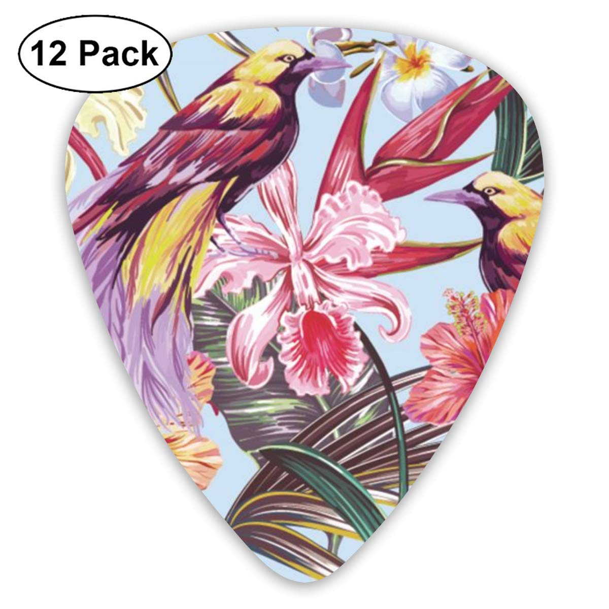 Cavdwa Palm Leaves, Jungle Leaf, Hibiscus, Orchid Flower, Bird of ...