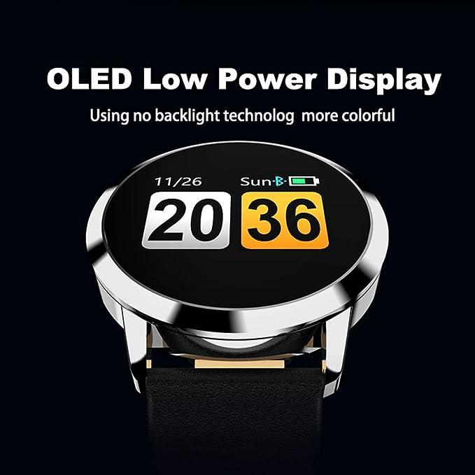 JP-DPP9 Mejor Regalo Newwear Q8 Reloj Inteligente de Acero ...