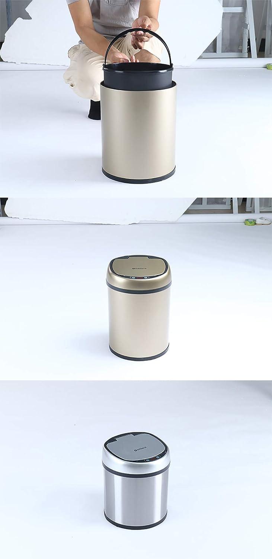 pattumiera induzione pattumiera manuale intelligente CNMF Pattumiera automatica per sensore da cucina Touchless due capacit/à e pi/ù colori: 6L // 8L