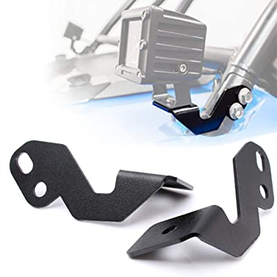BLIAUTO Front Pillar Side Roll Cage Mounting Brackets Light Pods Mount Brackets for UTVs Off Road Utv Off Road 2014-2020 Polaris RZR XP 1000 RZR 900 & 2008-2020 Kawasaki Teryx Teryx4 750 800(2PCS): Automotive [5Bkhe1506165]