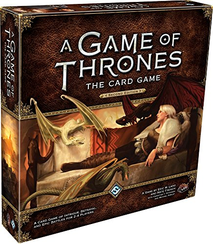 Fantasy Flight Games A Game of Thrones: The Card Game 2nd (Lcg Iron)