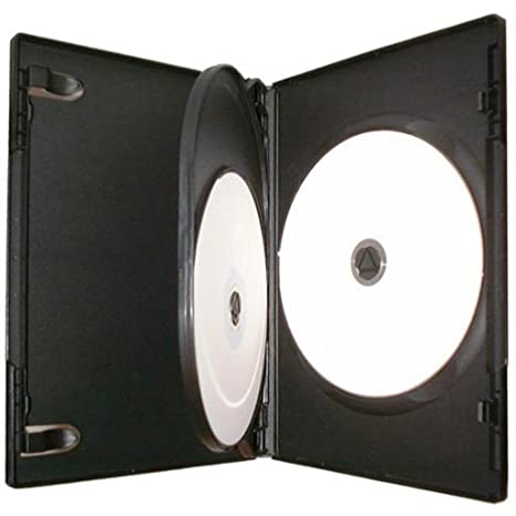 Four Square Media - Caja para 3 CD, DVD o Blu-ray (14 mm, 10 ...