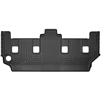 Husky Liners Fits 2008-16 Chrysler Town & Country, 2008-19 Dodge Grand Caravan - with 2nd Row Stow-N-Go Seating Weatherbeater 3rd Seat Floor Mat: Automotive