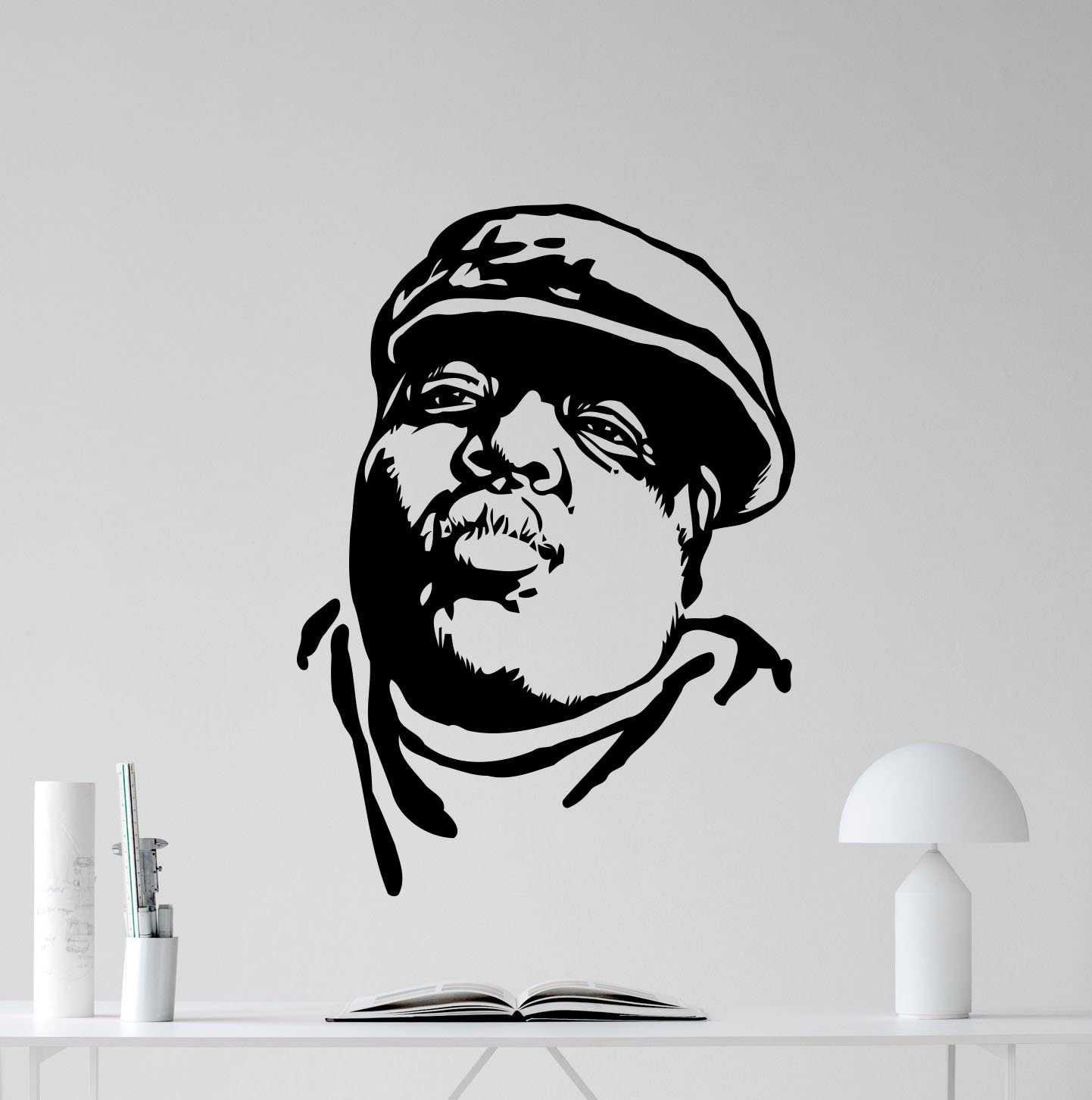 Wall Room Decor Art Vinyl Sticker Mural Decal Rap Hip Hop Star Big Large AS639