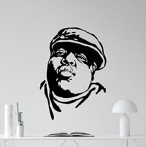 Amazon Com Notorious Big Wall Decal Biggie Smalls Vinyl