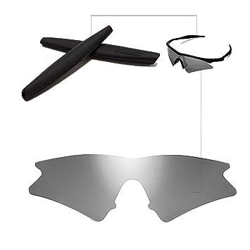 ee8718699e walleva lentes + de goma de repuesto para Oakley M Frame Sweep - Gafas de  sol deportivas, color 26 opciones disponibles: Amazon.es: Deportes y aire  libre