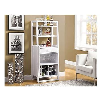 Monarch Ladder Style Bar Unit, 60 Inch, White