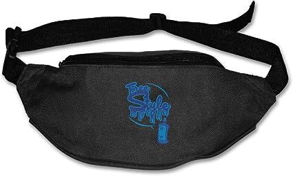 Kiss Me Im Highrish Sport Waist Bag Fanny Pack Adjustable For Travel