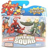 Marvel Superhero Squad Series 15 Mini 3 Inch Figure 2-Pack Spider-Man and Vulture
