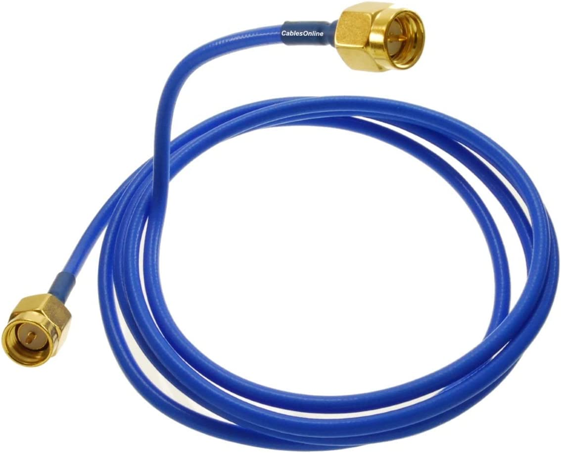 SMA Male to Open-end Semi-Rigid RG405 RF 50Ω Coaxial Pigtail Cable