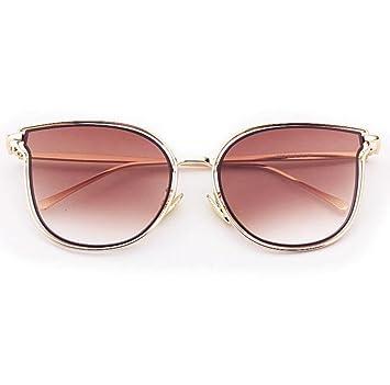 Das Auge Des Neuen Katze Brille Frau Fashion Großen Rahmen Sonnenbrillen Metall,A3