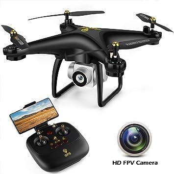 JJRC JJPRO GPS Drone, H68G RC Drone con cámara 720P HD Video en ...