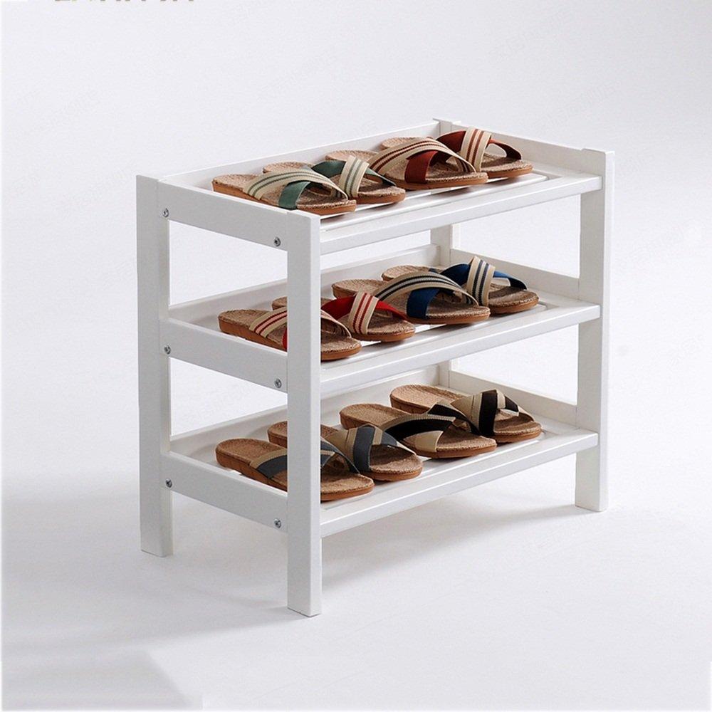 NAN liang 3層靴ラックストレージラック垂直ストレージキャビネット木製 自宅に適しています (色 : 1) B07KF19LV2 1