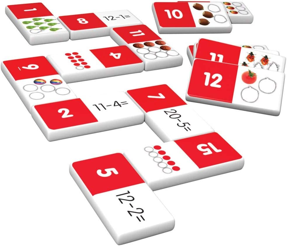 Junior Learning Addition & Subtraction Dominoes Game Set