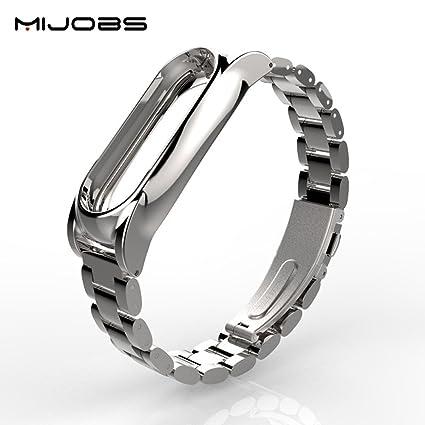 Amazon.com: fibest Original mijobs metal correa para XIAOMI ...