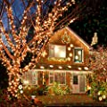 Christmas Projector Lights - 10PCS Pattern Multicolor Rotating Led Christmas Shower lights, Waterproof Lens Christmas Lights Projector Outdoor / Indoor for Xmas Parties, Garden Decorations and more