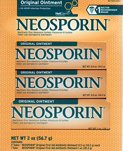 Neosporin Original First Aid Antibiotic Ointment 3pk by Neosporin
