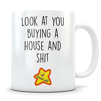 Amazoncom New Homeowner Gifts Coffee Mug Congratulations Gift
