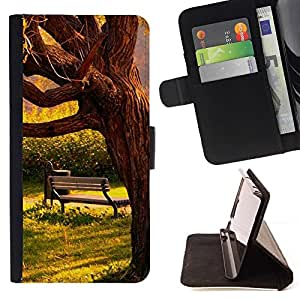 For Sony Xperia Z5 Compact Z5 Mini (Not for Normal Z5) Case , Sun Significado caliente Sad Love Romantic- la tarjeta de Crédito Slots PU Funda de cuero Monedero caso cubierta de piel