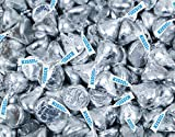 25 Lb Hershey Kisses Best Deals - HERSHEY'S KISSES Candy Silver Foiled Milk Chocolate - Bulk Candy (25lb)