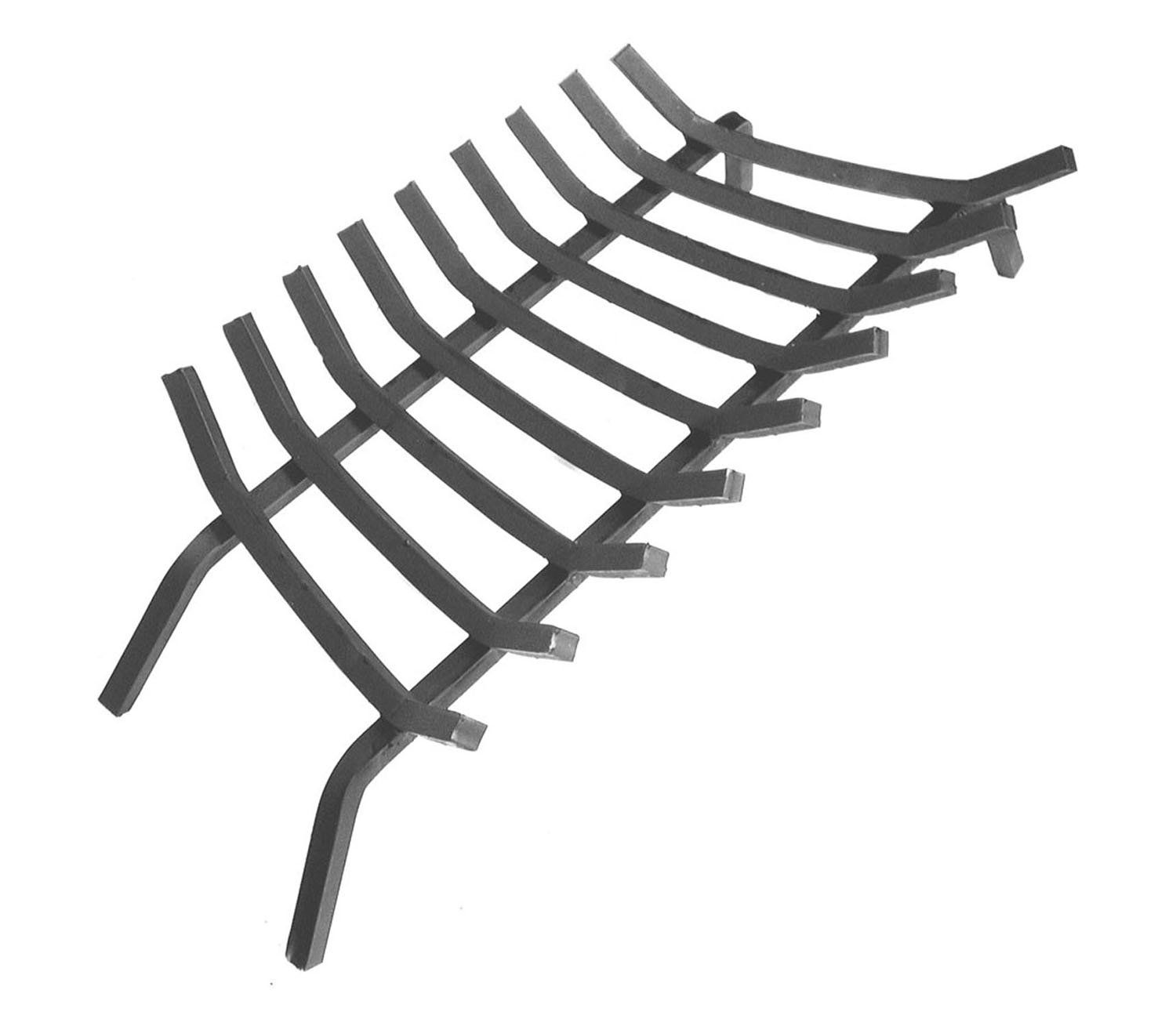 amazon com extra thick steel fireplace grate w 9 bars 36 inches