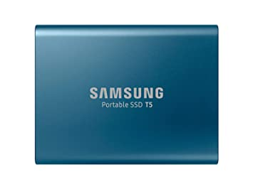 Amazon.com: Disco duro externo, Samsung T5, Azul: Computers ...