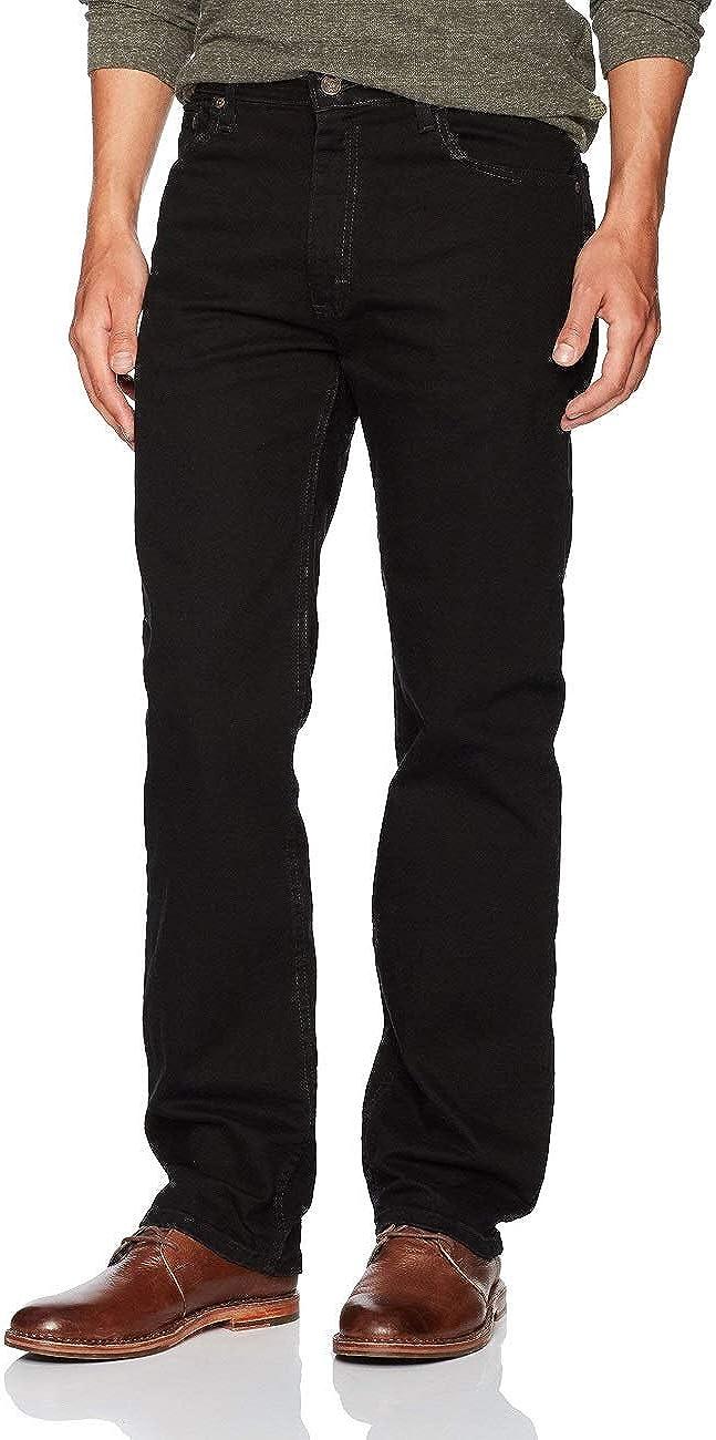 Wrangler Men's Regular Fit Comfort Flex Waist Jean