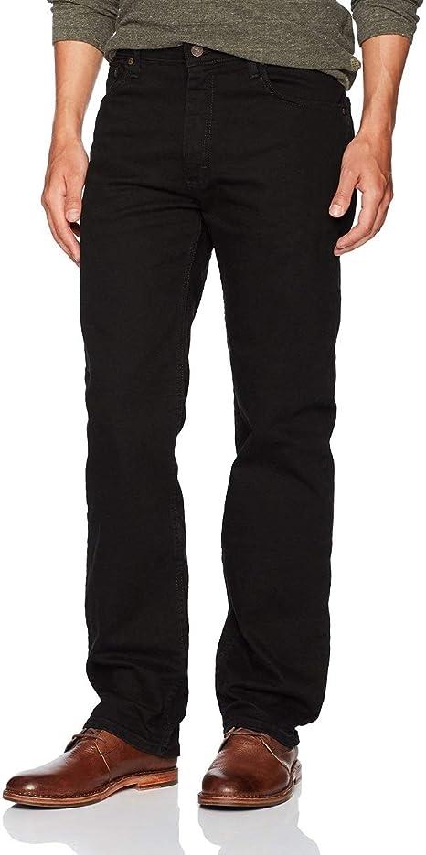 Wrangler Jeans Men/'s Regular Fit Medium Stonewash W10105M02