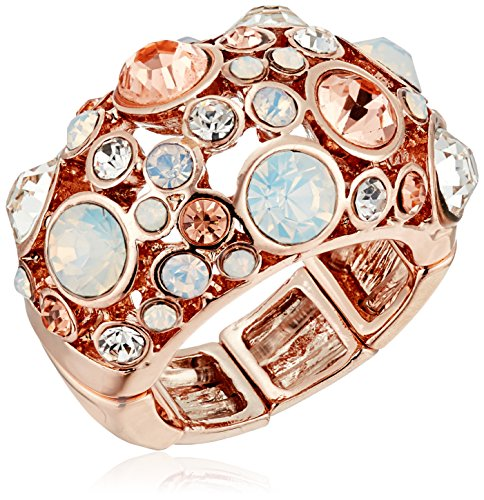 GUESS Basic Domed Multi Stone Adjustable