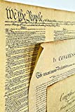 Three Documents of Freedom Set-Small--Constitution, Declaration of Independence, Bill of Rights