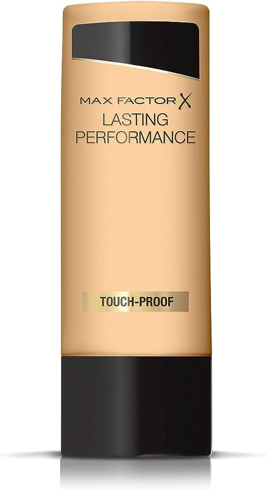 Max Factor Lasting Performance Base de Maquillaje Líquida Tono 106 Natural Beige - 35 ml (el paquete puede variar): Amazon.es: Belleza