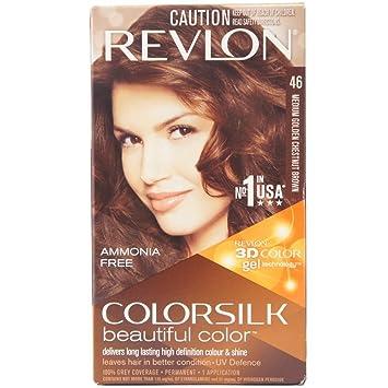 Amazon Com Revlon Colorsilk Beautiful Color Medium Golden