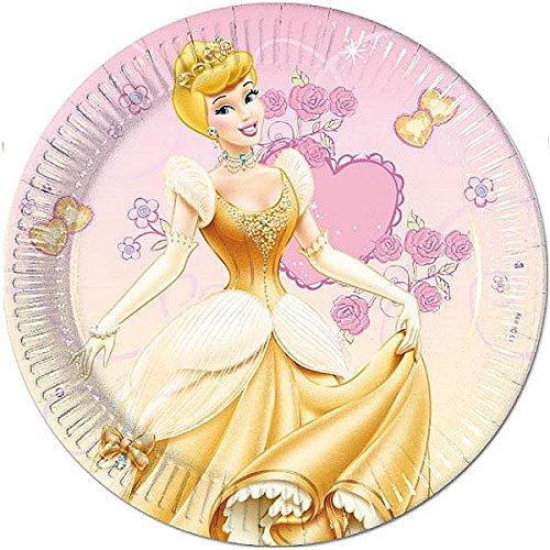 Platos Cumpleaños de Princesas Disney CUMP/FIES: Amazon.es ...