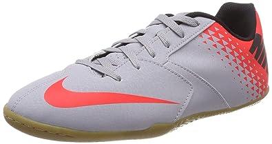 new arrival d2eb0 e9f1b Nike Jr Bomba IC, Chaussures de Futsal Mixte Enfant, Multicolore (Wolf Grey