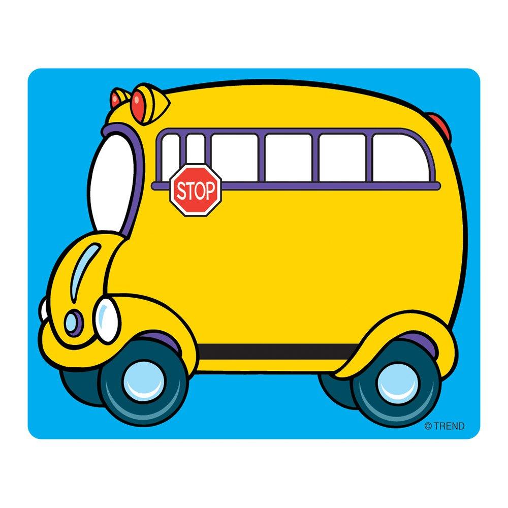 amazon com trend enterprises inc school bus terrific labels 36 rh amazon com Pete the Cat Rocking in My School Shoes Pete the Cat Clip Art Welcome