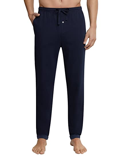 Schiesser Mens Hose Lang Pyjama Bottoms