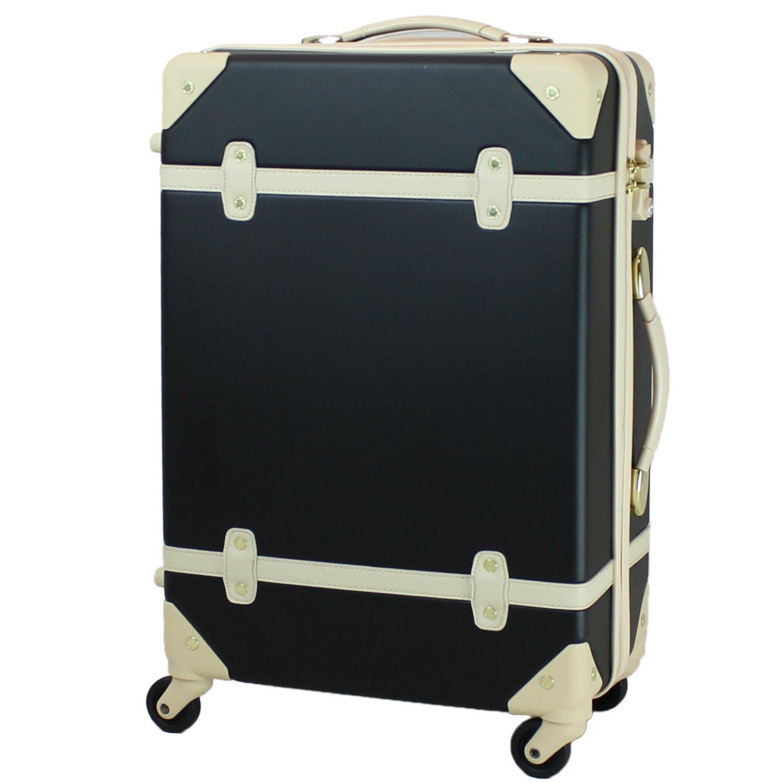 MOIERG(モアエルグ) キャリーバッグ YKK使用 軽量 キャリーケース スーツケース 3年保証 B015GKF5X0 M|ブラック ブラック M