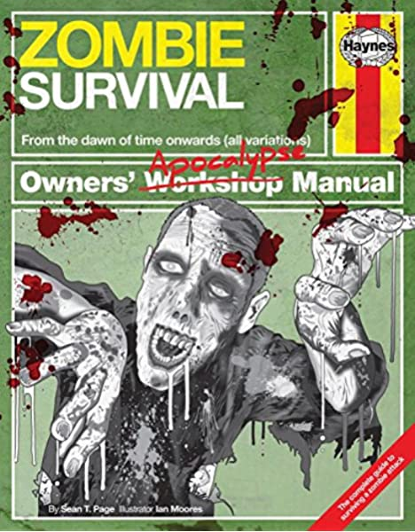Zombie Survival Manual: The complete guide to surviving a zombie attack Owners Apocalypse Manual: Amazon.es: Page, Sean T.: Libros en idiomas extranjeros