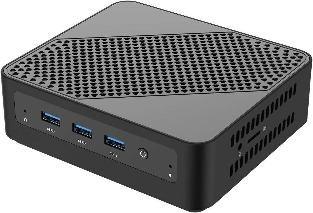 MINIS FORUM Mini PC, procesador Intel Core i5-5257U 8 GB DDR3L / 128GB SSD Mini computadora de Escritorio con Windows 10 Pro, conexión HDMI y Mini DP, ...
